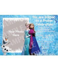 Personalised Frozen Invitations