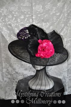 07fffd7e671bb BY LYNDA DWYER NINNESS  millinery  hats  HatAcademy Fascinator Hats