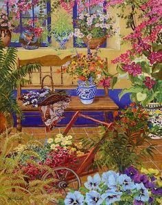 Bouganvilla Bloom by John Powell