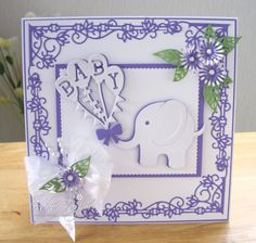 Blog Tonic: Rococo Baby Card Duo - Edna