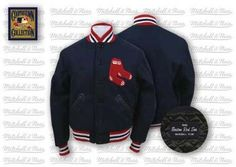 0c89e445a79 Click Image Above To Buy  1946 Boston Red Sox Authentic Wool Jacket From  Mitchell And Ness