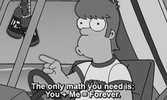 The Simpsons  Quote (About young homer math forever)