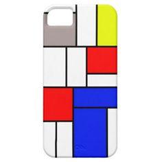 Mondrian style iPhone 5/5S case