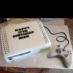 Xbox cake for Nick's 17th Birthday