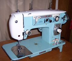 Restored- Early '60s Japanese-made Dressmaker Sewing Machine