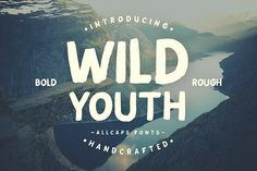 Wild Youth Typeface by ilhamherry on @creativemarket
