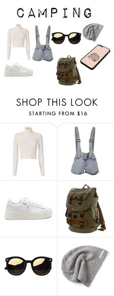 """""""Camping"""" by faridahusain on Polyvore featuring A.L.C., Converse and Pusheen"""