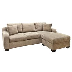 2-Piece Sofa-Chaise in Amalfi Cappuccino | Nebraska Furniture Mart