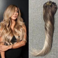 Beautiful Clip Hair Extensions #4#18