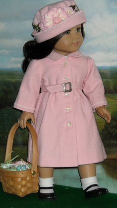 Becca pink coat by Kathy K13....adorable!, via Flickr
