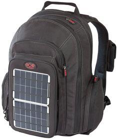 OffGrid Solar Backpack (Silver) | 2012 Survival Gear