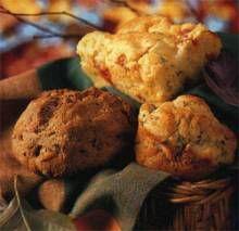 Mini Walnut Soda Breads | DianasDesserts.com