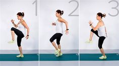 Burn 100 calories in 10 minutes: Do Jenna's total body workout at home! - TODAY.com