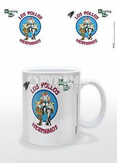 Official Breaking Bad Los Pollos Hermanos Mug @ niftywarehouse.com #NiftyWarehouse #BreakingBad #AMC #Show #TV #Shows #Gifts #Merchandise #WalterWhite