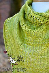 Ravelry: Pear Sorbet Shawlette pattern by Marly Bird