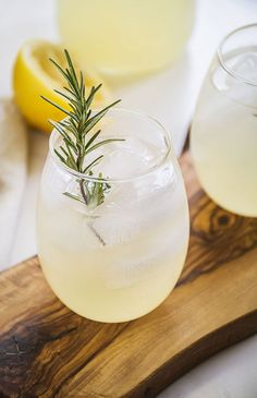 ginger lemonade.