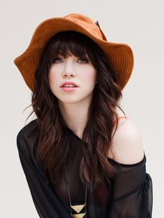Interview with Carly Rae Jepson, Singer of Hit Song Call Me Maybe Pretty People, Beautiful People, Beautiful Voice, Perfect People, Carly Rae Jepson, Girl With Hat, Mannequins, Portrait, Her Hair
