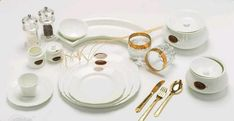 Imagen relacionada Crockery Set, Measuring Spoons, Cutlery, Image, Dish Sets, Flatware, Dishes, Table Place Settings