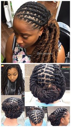 Classic Twist Braids have existed for decades but, due to innovation and variation upon the style, getting Twist Braids remains one of the most exciting and on-trend things that you can do with you… Dreadlock Styles, Dreads Styles, Dreadlock Hairstyles, Cool Hairstyles, Black Hairstyles, Braided Hairstyles, Natural Hair Care, Natural Hair Styles, Dreads Girl