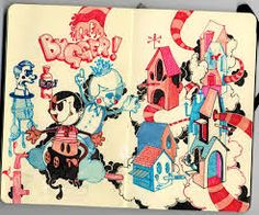 Afbeeldingsresultaat voor sketchbooks ideas