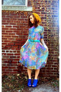 Crazy Rainbow Dress