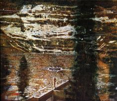 peter doig   Jetty - Peter Doig - WikiPaintings.org