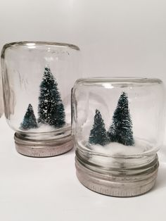 Christmas Diy, Christmas Decorations, Lag, Green Plants, Snow Globes, Diy And Crafts, Mason Jars, Design, Nature Pictures