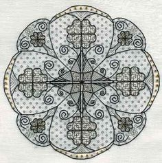 BNWT Blackwork Designs by Leon Conrad - Tudor Rose Embroidery Kit by Stitchkits Blackwork Cross Stitch, Blackwork Embroidery, Rose Embroidery, Cross Stitching, Cross Stitch Embroidery, Embroidery Patterns, Tudor Rose, Cross Stitch Kits, Cross Stitch Charts