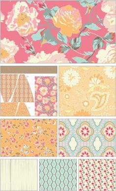 Chatsworth Fabric Line by Emily Taylor Designs for Riley Blake Designs—Subscribe to our newsletter at http://www.rileyblakedesigns.com/newsletter/