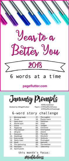 The NEW Story Challenge for journaling, writing, self-improvement, mindfulness, and goal setting. 6 Word Stories, Six Word Story, Journal Challenge, Journal Prompts, Journal Ideas, Journal Entries, Journal Notebook, Writing Prompts Funny, Writing Ideas