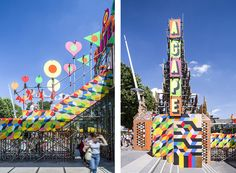 the temple of agape by morag myerscough and luke morgan