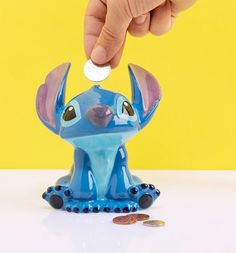 Lilo And Stitch Money Bank Disney Bedrooms, Money Bank, Retro Gifts, Disney Merchandise, Geek Out, Lilo And Stitch, Disney Outfits, Disney Cartoons, Book Gifts