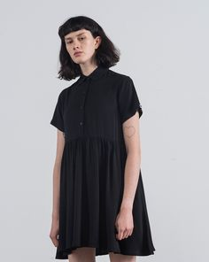 LO Basics Black Shirt Dress - Everything - Categories - Womens