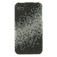 Full Diamond Case Slide Cascade for iPhone 4/4S (Black / White)