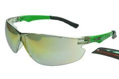 Oakley Radar Sunglasses Black Green Frame Silver Lens 0983