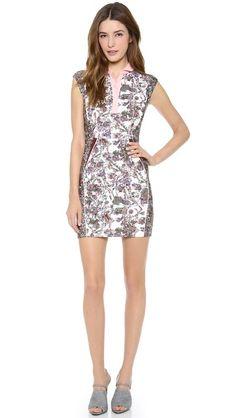 O 2nd Lora Print Patched Dress c1fb3b955