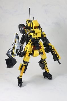 A demolition mech that will knock you down
