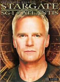 #Stargate Magazine With Jack O'Neill on the Cover