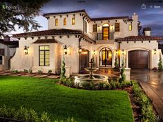 Beautiful Mediterranean style home.