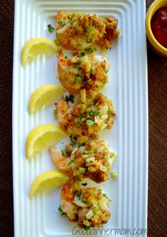 Shrimp Appetizers with Crab Stuffing