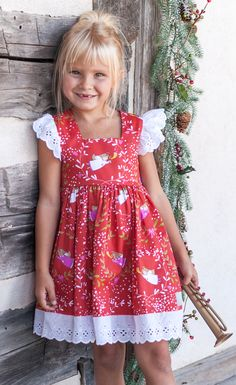 The sweetest Christmas dress for your sweetest angel.