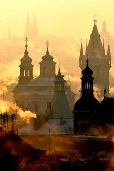 Prague in color / Martin Froyda   via: Art, Craft & Architecture on FB