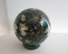 Preseli Bluestone Carved Crystal Sphere - Stone of Stonehenge!