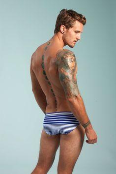 """""""Mr. Turk."""" Parker Hurley. Tattoo, body art."""