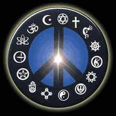 As a Baha'i I love this symbol, it represents my belief that all religions are one!