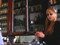 "As an herbalist, this apothecary / herb room is one of my favourites in the film, ""Practical Magic"".  To have such a well organized and dedicated space is a dream!"