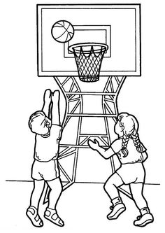 Basketball Coloring Pages for Kids. 20 Basketball Coloring Pages for Kids. Free Printable Coloring Sheet Basketball Sport for Kids Tinkerbell Coloring Pages, Disney Coloring Pages, Coloring Pages To Print, Coloring Pages For Kids, Coloring Books, Sports Coloring Pages, Preschool Coloring Pages, Theme Sport, High School Art