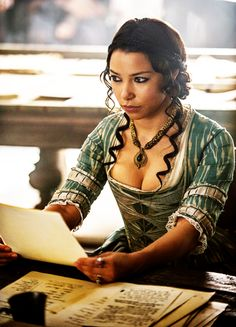 Jessica Parker Kennedy in 'Black Sails' x Black Sails Cast, Black Sails Starz, Charles Vane, Jessica Parker Kennedy, Golden Age Of Piracy, D Avila, Max Black, Movie Costumes, Costumes
