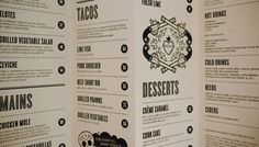 El Burro Menu by Monday Design