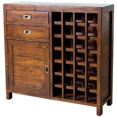 The Post & Rail Wine Rack - Jamaican Sunset from LH Imports is a unique home decor item. LH Imports Site carries a variety of Post and Rail and other Collections furnishings. Wine Rack Cabinet, Cabinet Makers, Tall Cabinet Storage, Locker Storage, Wine Racks, Unique Home Decor, Home Decor Items, Cabinets Online, Urban Barn